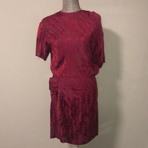 Isabel Marant Burgundy Dress